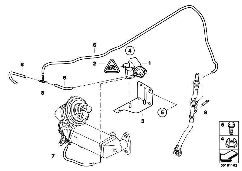 original parts for e90 320d n47 sedan engine vacuum control agr estore. Black Bedroom Furniture Sets. Home Design Ideas