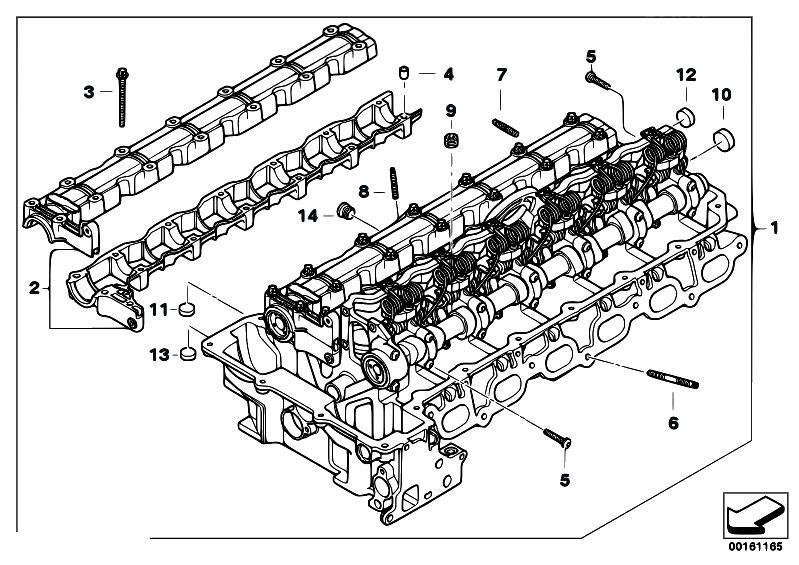 original parts for e87 130i n52 5 doors    engine   cylinder