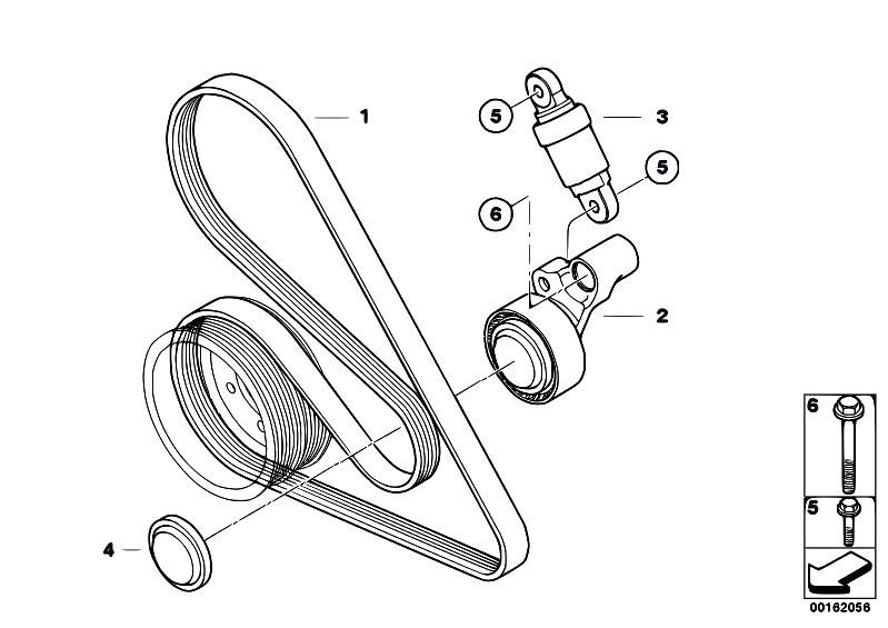 original parts for e92 m3 s65 coupe    engine   belt drive
