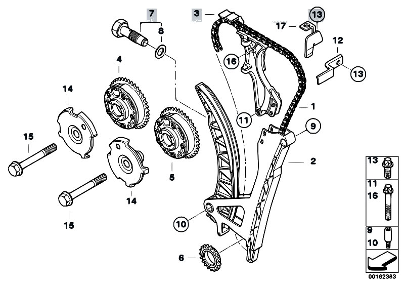 Timing And Valve Train Timing Chain on 3 1 liter engine diagram timing chain