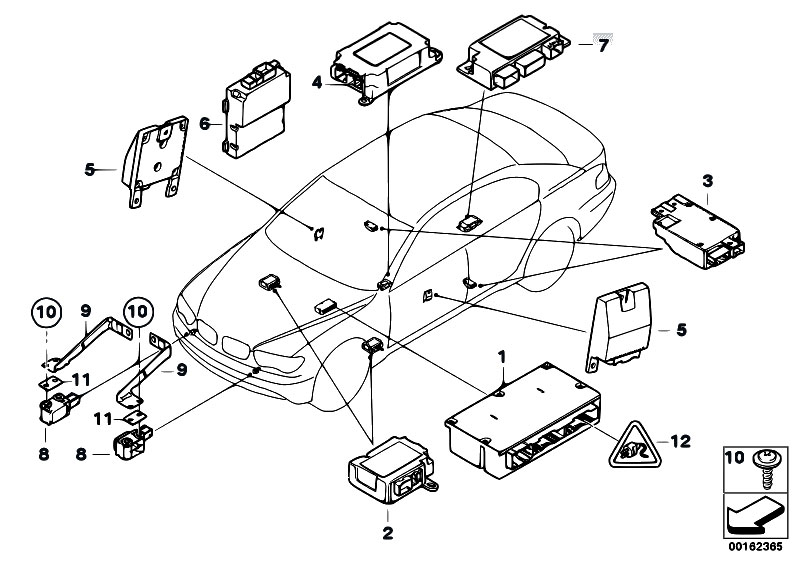 Volvo Central Electronic Module Location