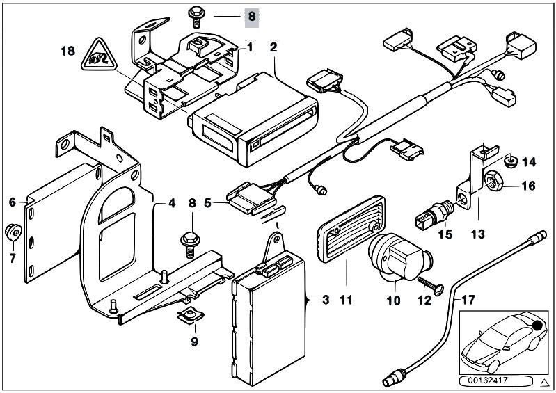 original parts for e39 520d m47 sedan audio navigation original parts for e39 520d m47 sedan audio navigation electronic systems navigation system video module estore central com
