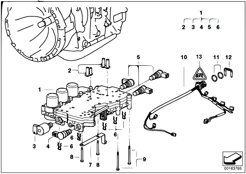 Bmw E39 Transmission Wiring Diagram : Bmw e transmission diagram free engine image for