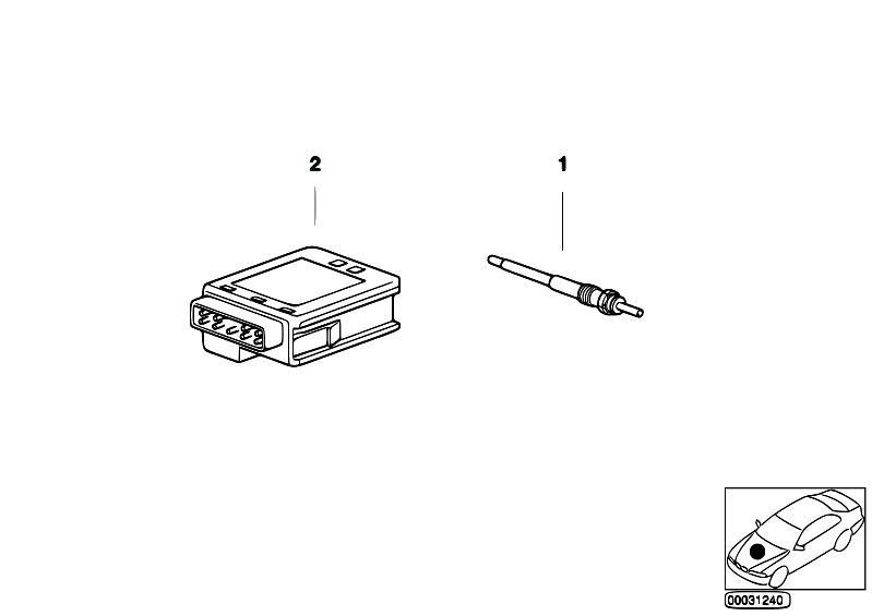 original parts for e53 x5 3 0d m57 sav    engine electrical