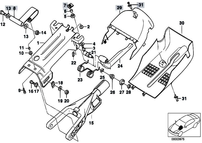 original parts for e39 520d m47 sedan    steering   manually