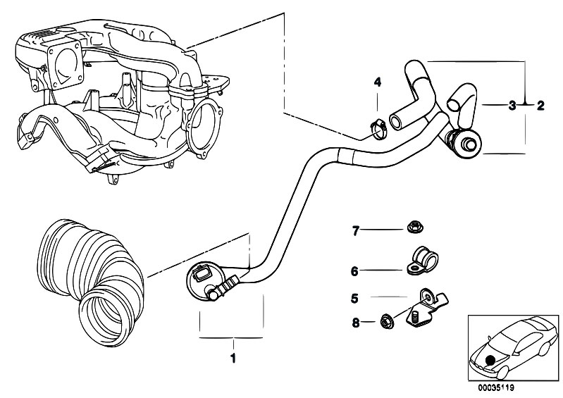 bmw e36 vacuum hose diagram  bmw  free engine image for