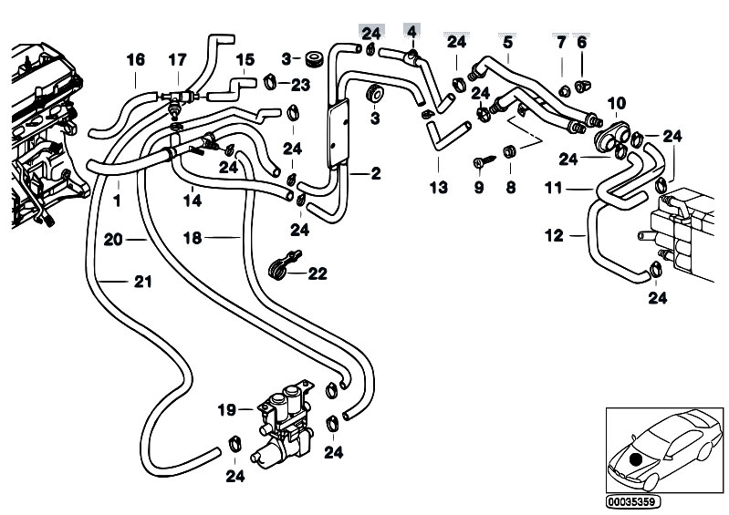 1997 bmw 318i wiring harness replacement