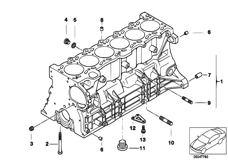 original parts for e46 325ci m54 coupe engine engine block estore central