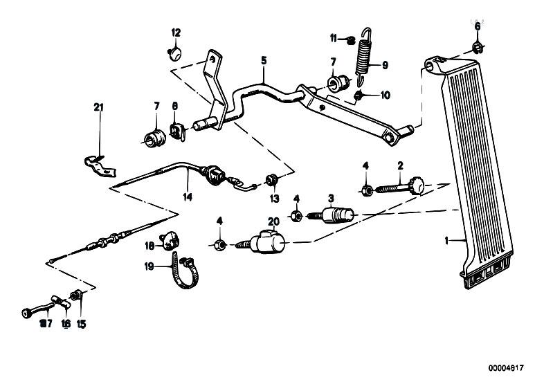Original Parts For E30 318i M40 2 Doors    Pedals