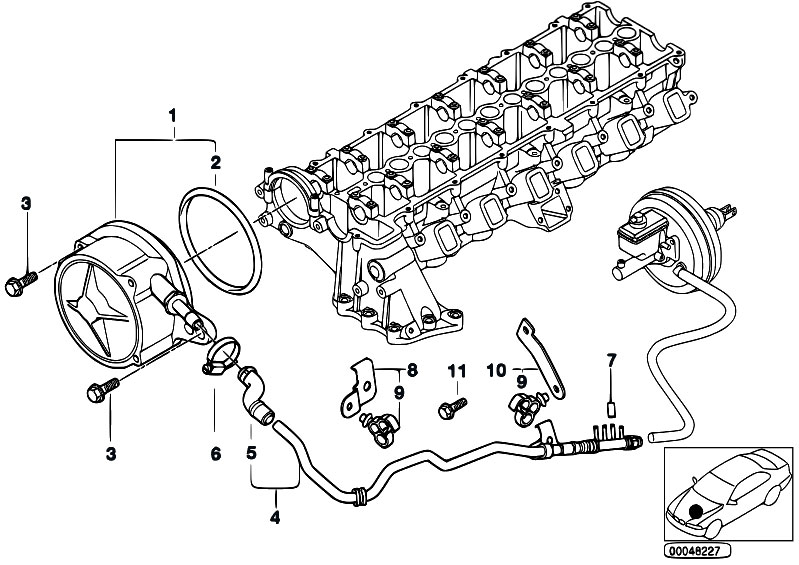 e46 vacuum hose diagram pictures