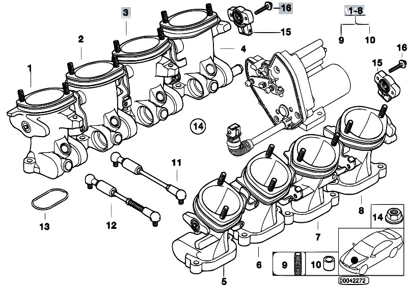 Original Parts For E39 M5 S62 Sedan    Fuel Preparation
