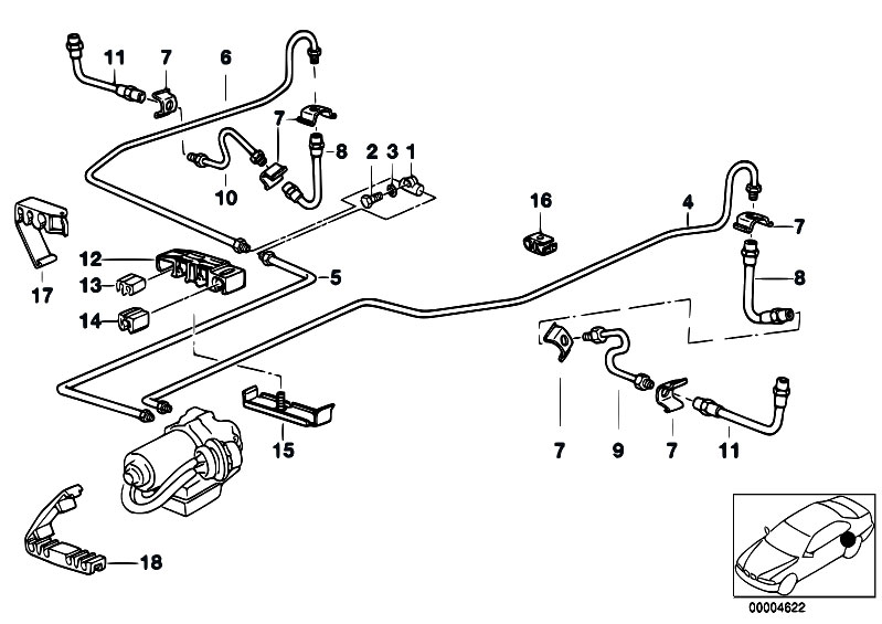 Original Parts For E36 316i 1 9 M43 Compact    Brakes