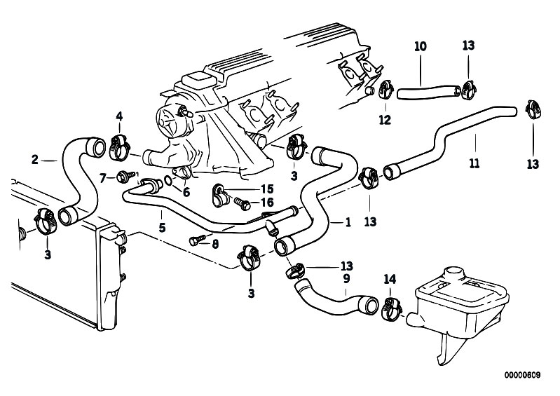 bmw 325e cooling system diagram  bmw  wiring diagrams