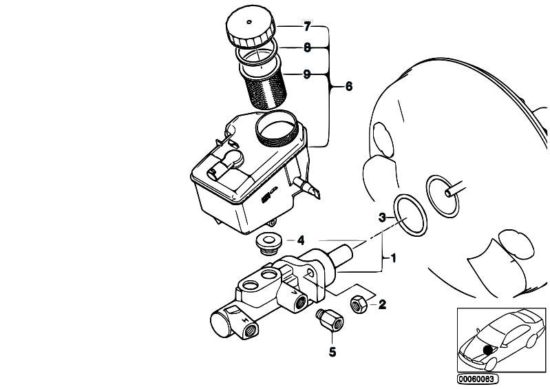 Original Parts For E46 320ci M52 Coupe Brakes Brake