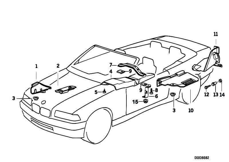original parts for e36 m3 s50 cabrio    vehicle trim   heat