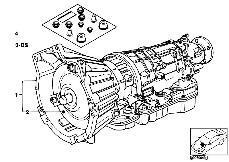 Original Parts For E34 518i M40 Sedan    Automatic