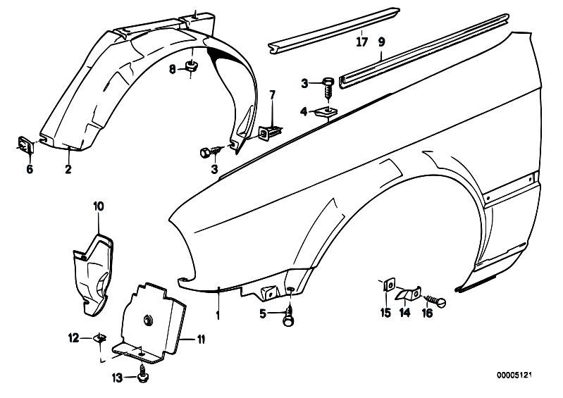 Original Parts For E30 M3 S14 Cabrio    Bodywork   Side