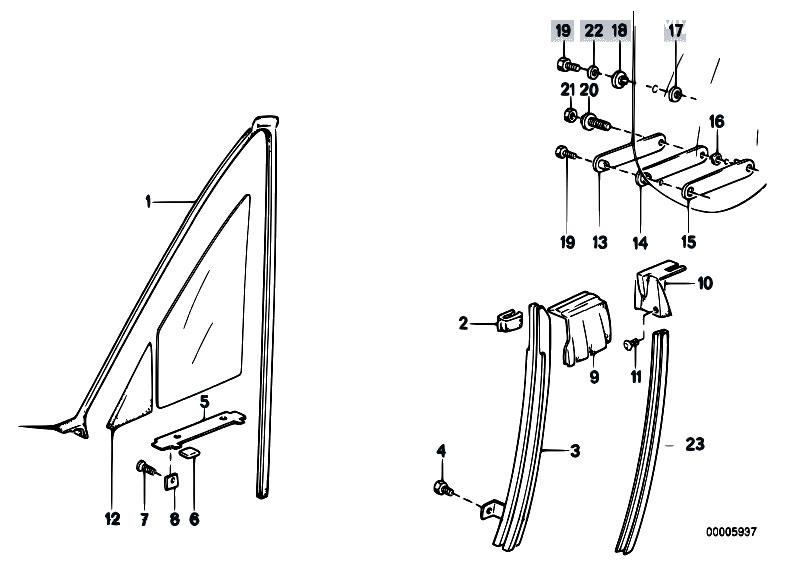 Original Parts For E30 318i M40 Cabrio    Vehicle Trim