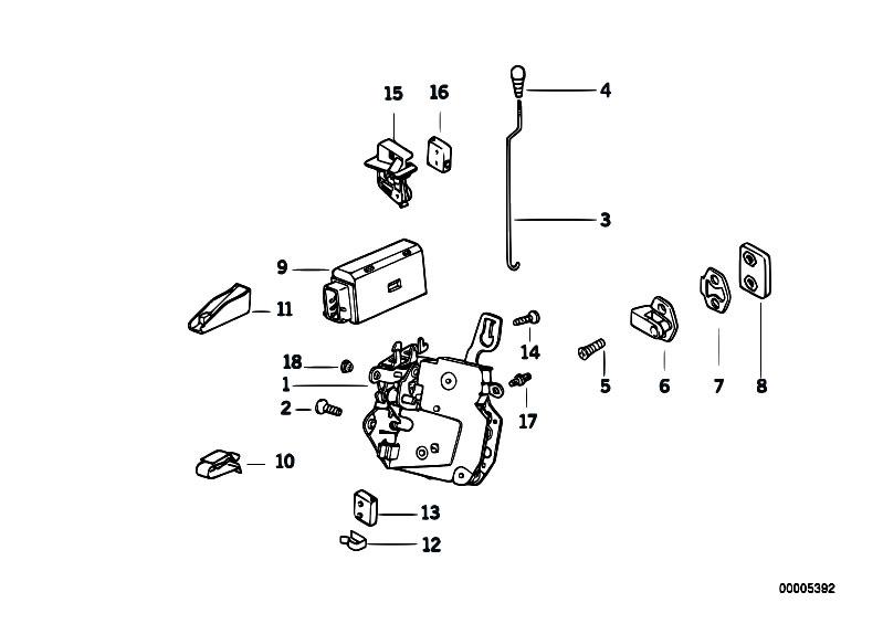 Original Parts For E36 320i M50 Cabrio    Bodywork   Door