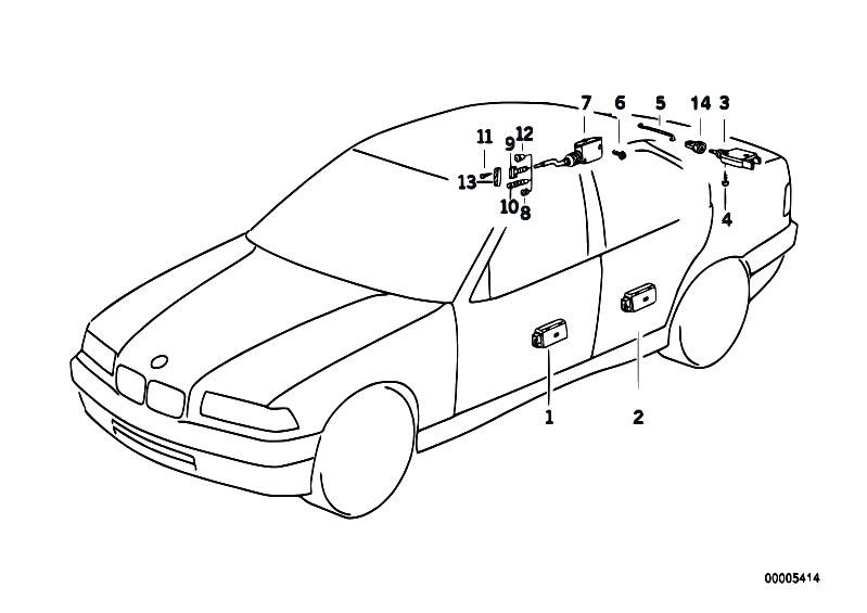 original parts for e36 318ti m42 compact    bodywork