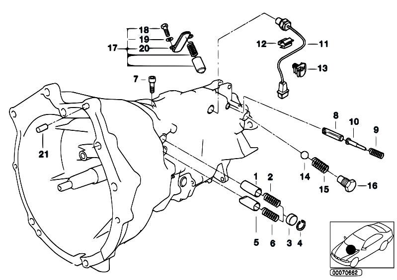 original parts for e46 m3 s54 coupe    manual transmission
