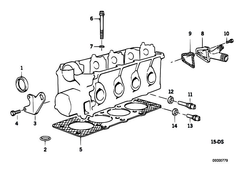 Original Parts For E34 518i M40 Sedan    Engine   Cylinder