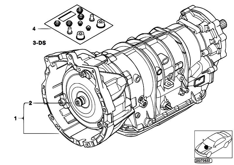 Original Parts For E53 X5 3 0i M54 Sav    Automatic