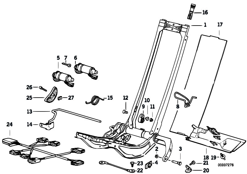 original parts for e36 320i m50 coupe    seats   bmw sports