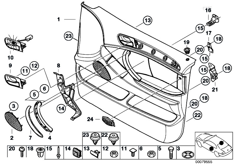 Original    Parts    for E53    X5    30d M57N SAV  Vehicle Trim
