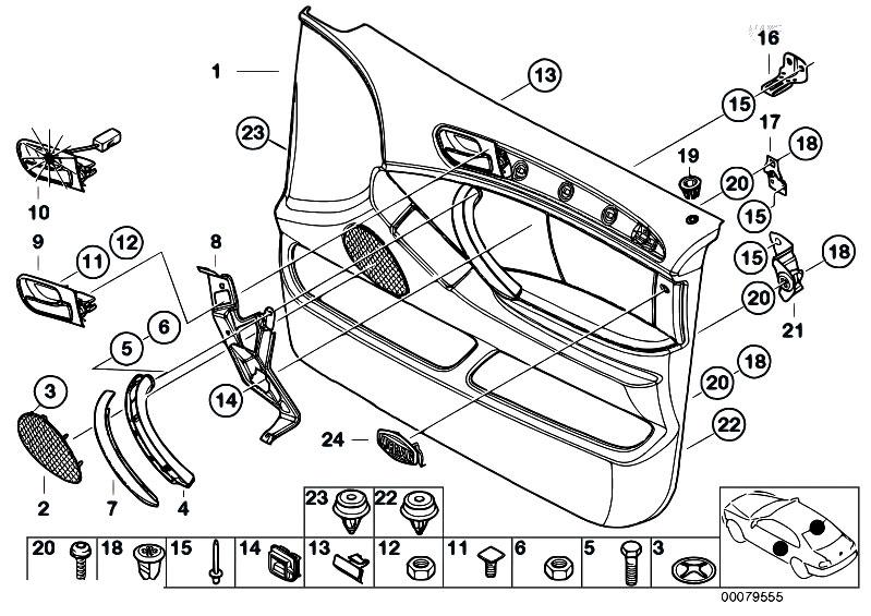 Original Parts For E53 X5 3 0i M54 Sav    Vehicle Trim