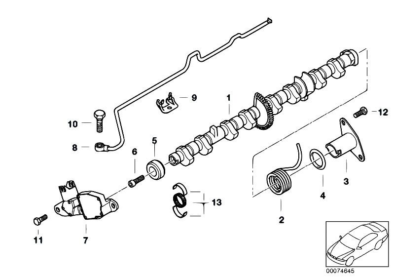 Original Parts For E46 316ti N42 Compact Engine Valve