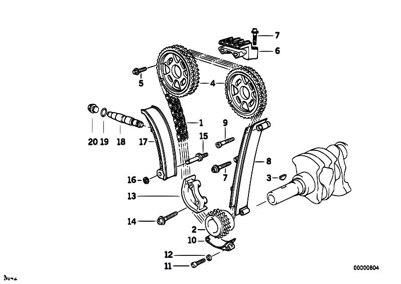 bmw e36 parts timing marks diagram  bmw  free engine image