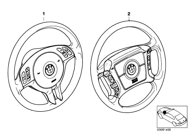 original parts for e46 318i n42 sedan    steering   retrofit