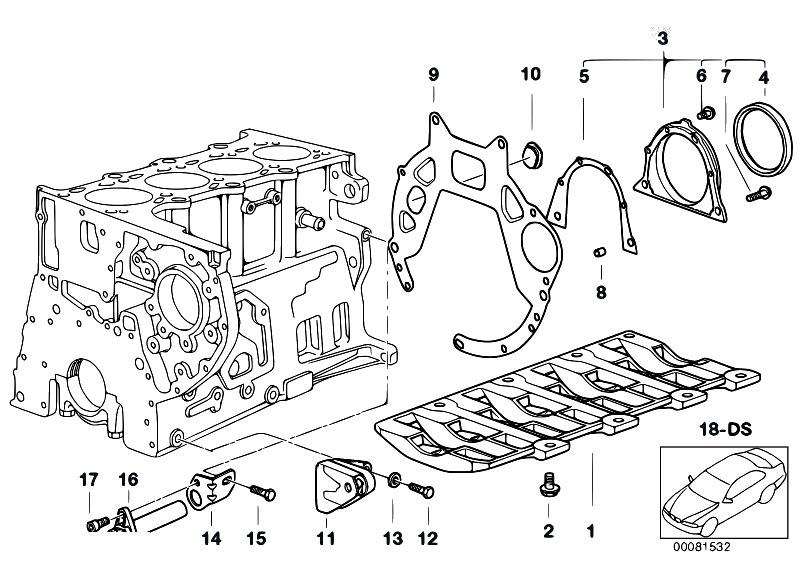 Original Parts For E39 520d M47 Sedan    Engine   Engine