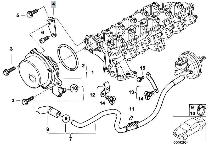 2003 bmw 330i vacuum hose diagram  bmw  auto wiring diagram