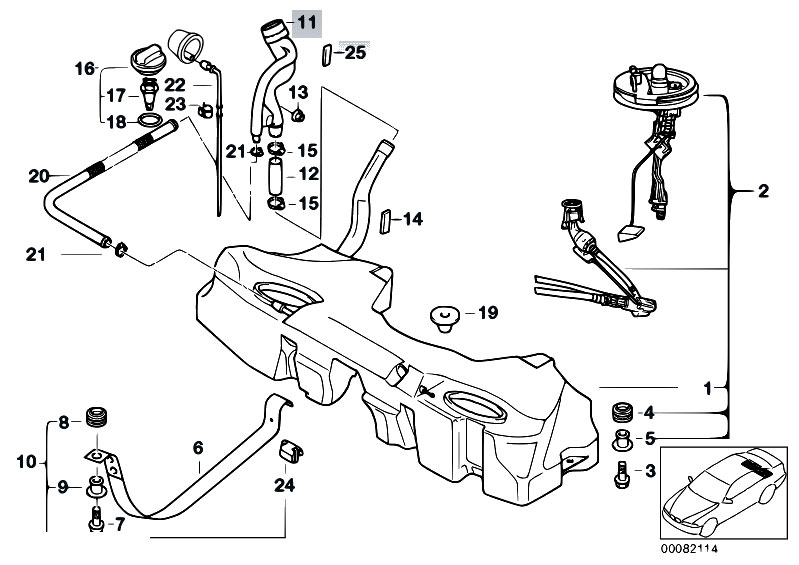 Bmw X3 Fuel Tank Diagram on Bmw 740il Parts Diagram