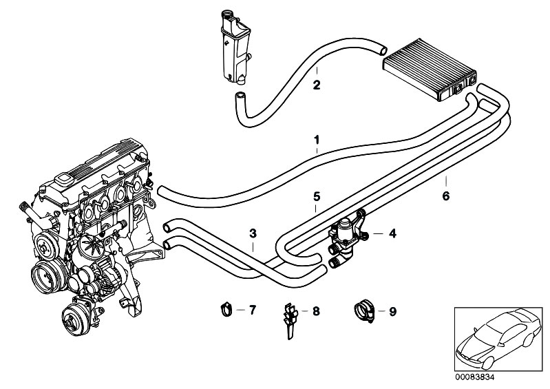 Bmw E36 Air Hose Diagram