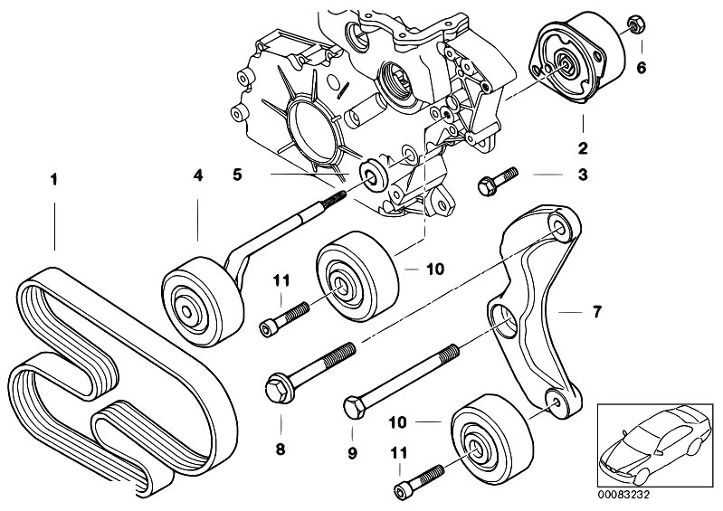 Odmymzjfca on Bmw E46 Belt Diagram