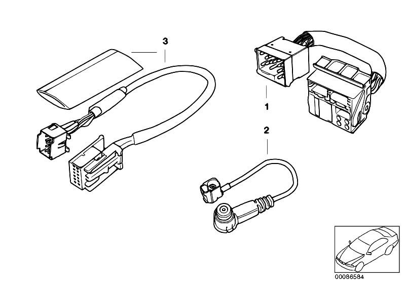original parts for e39 540i m62 touring    audio navigation