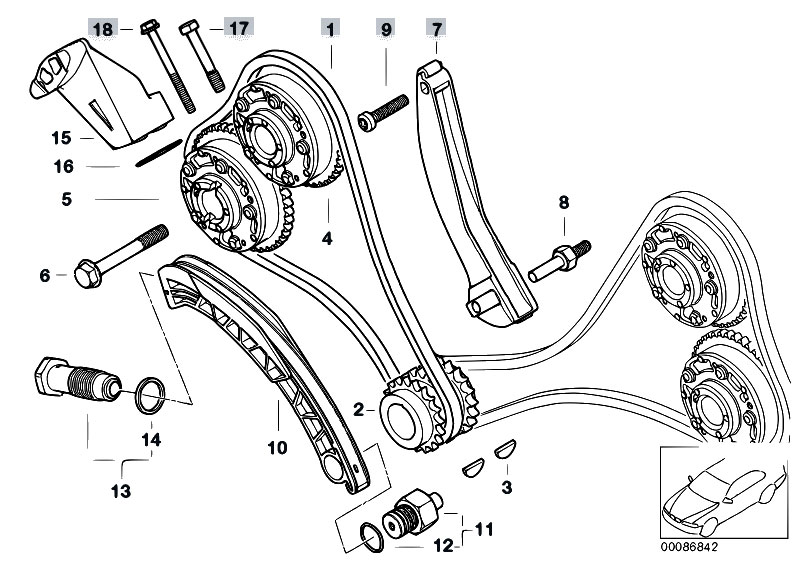 service manual  how set cam timing marks 2007 bmw m6