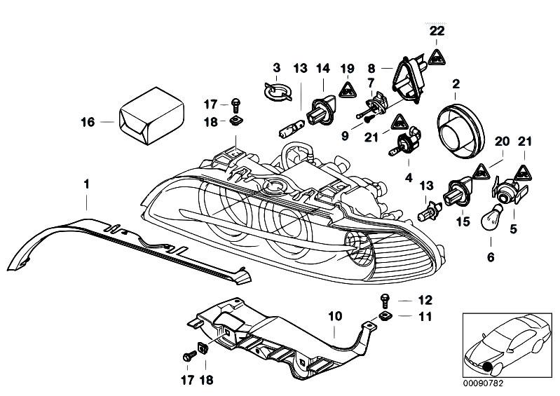 original parts for e39 520d m47 sedan    lighting   indiv