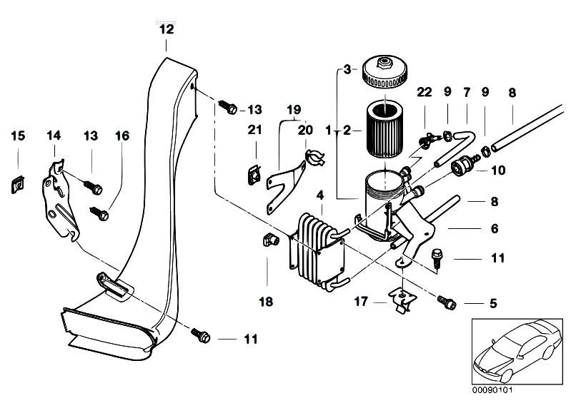 original parts for e46 320d m47 sedan    fuel preparation