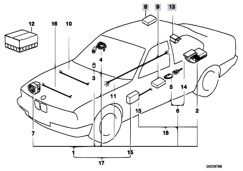 original parts for e36 320i m50 cabrio    audio navigation