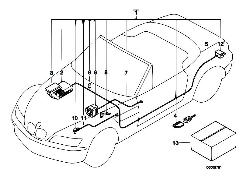 Original Parts For Z3 Z3 1 9 M44 Roadster    Audio