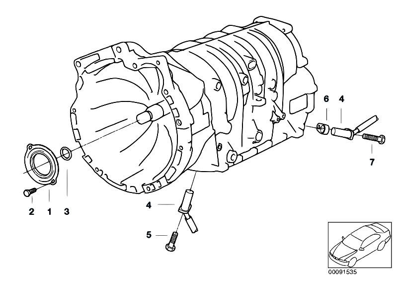 A4s200r Sealing Input Shaft Speed Sensor on Bmw 318i Engine Diagram