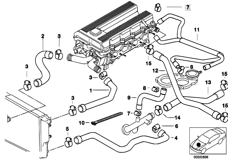 bmw 318ti cooling system diagram  bmw  free engine image