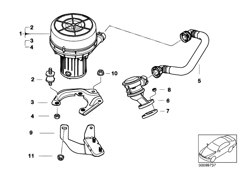 Original Parts For E46 318ti N42 Compact    Engine