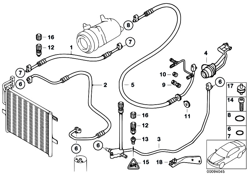 original parts for e46 316ti n42 compact / heater and air ... bmw n42 wiring diagram