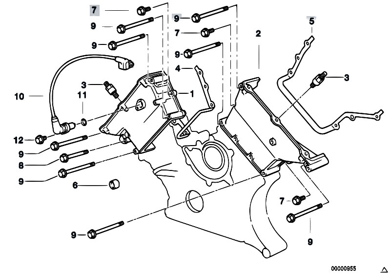 2006 bmw 750li n62 engine diagram