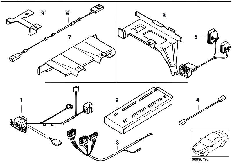 original parts for e39 525i m54 sedan    communication